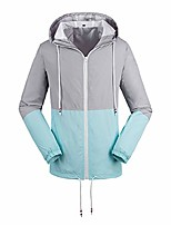 cheap -lightweight blush pink casual active windbreaker waterproof jacket women