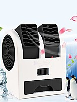 cheap -portable air coolers, mini personal space arctic air, air conditioning 3-in-1 fan humidifier purifier (usb or battery powered), for home/bedroom/office/outdoor (no noise) (black)