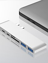 cheap -USB 3.1 Type-C Hub To Adapter USB C Hub with Hub 3.0 TF SD Reader Slot PD for MacBookProAir2020