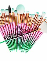 cheap -20 pcs/set makeup brush set eyeshadow brushes beauty cosmetic brush tools kit