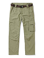 cheap -kids boy's youth quick dry pull on cargo pants, outdoor hiking camping fishing khaki tag 130-6y
