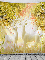 cheap -Fairytale Theme Wall Decor 100% Polyester Classic / Modern Wall Art, 150*100 cm Decoration