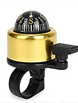 cheap -bicycle bell 5 colors mini aluminum alloy bike bell loud crisp clear sound bike ring horn accessories (gold)