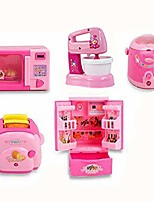 cheap -pretend kitchen toys small mini kitchen playset simulate housework home appliances educational toys set for girl 5 pcs (kitchen)