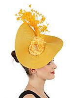 cheap -Queen Elizabeth Audrey Hepburn Retro Vintage 1950s 1920s Kentucky Derby Hat Pillbox Hat Women's Costume Hat White / Black / Purple Vintage Cosplay Party Prom