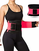 cheap -waist trainer belt for women, breathable sweat belt waist cincher trimmer body shaper girdle fat burn belly slimming band for weight loss fitness workout