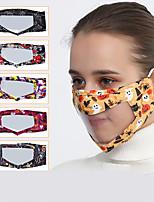 cheap -Adult Halloween Masks Lip Language Visual Dust Mask Face Mask Life Mask Earmuffs Festival