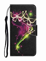 cheap -Case For Samsung Galaxy Note 20 Ultra Galaxy S20 Ultra Wallet Card Holder with Stand Full Body Cases Couple Butterfly PU Leather TPU for Galaxy A71 Note 20 A21S A51 A70 A30 A50 A20S S20