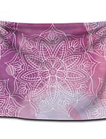 cheap -Wall Tapestry Art Decor Blanket Curtain Picnic Tablecloth Hanging Home Bedroom Living Room Dorm Decoration Polyster Light Purple Bohemia Mandala View