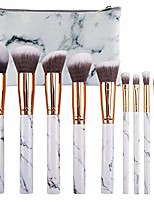 cheap -prime deals day deals 2020-10pcs marble makeup brushes set gift
