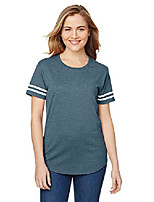 cheap -womens heavy cotton victory t-shirt & #40;g500vtl& #41; -hthr navy/ -2xl
