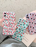 cheap -Case For iPhone 11 Pattern Back Cover Heart Flower Silicone Case For iPhone 11 Pro Max / SE2020 / XS Max / XR XS 7 / 8 7 / 8 plus