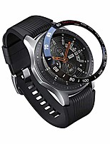 cheap -stainless steel bezel ring for galaxy watch 46mm - gear s3 frontier & classic - cover protector adhesive styling scratch protection accessories compatible (model 4)