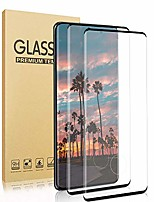 cheap -screen protector for samsung galaxy s20 ultra, 2 pieces tempered glass 3d full coverage support fingerprint sensor hd clear protective film (s20 ultra 5g, 6.9 inch)