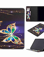 cheap -Case For Apple iPad 2/3/4  9.7'' / iPad 5 (2017) 9.7'' / iPad 6 (2018) 9.7'' Wallet / Card Holder / with Stand Full Body Cases Butterfly PU Leather / TPU