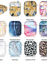 cheap -Case For AirPods Shockproof Cool Color Gradient Headphone Case Soft