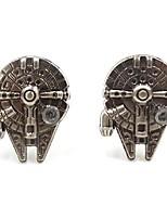 cheap -mens cufflinks gift choose (millennium falcon)