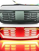 cheap -2Pcs 12LEDLight Bulbs 12V Motorcycle Signal Brake Stop Tail Light Operation Indicator Integrated Turn Signal