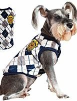 cheap -pet clothes the diamond plaid cat dog sweater,dog accessories,dog apparel,pet sweatshirt