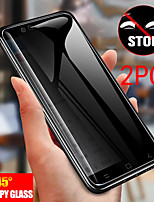 cheap -2PCS SAMSUNG Screen Protector S20 Ultra / S10 Lite / S20 FE 5G / S10E / S8 / S9 Plus / S7 Edge High Definition (HD) Front Screen Protector  Tempered Glass Privacy Anti-Spy