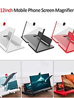 cheap -New 12 inch 3D Mobile Phone Screen Magnifier HD Video Amplifier with Foldable Holder Magnifying Glass Smart Phone Stand Bracket