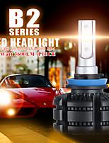 cheap -2PCS Cnsunnylight Brillo alto  Canbus LED H11  bombillas antiniebla para coche 9005 9006 3600LM Blanco 3000K amarillo Luz antiniebla para coche DRL 18W