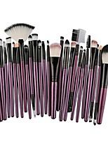 cheap -25 pcs/set makeup brush set, hot sales lip makeup brush eyeshadow brush set (purple)