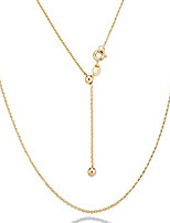 cheap -925 sterling silver italian 1.3mm adjustable solid diamond cut thin bolo cable chain necklace for women, slider chain 14-24 inch made in italy (yellow-gold-plated-silver)