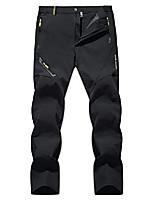 cheap -Hiking Pants Trousers Outdoor Cargo Pants Bottoms Women's black Men's black Men's Navy Men's Khaki Men's dark gray Camping / Hiking Hunting Fishing Female 2XL Female 3XL Female 4XL Female L Female M