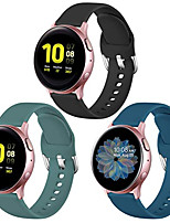 cheap -Watch Band for Gear Sport / Gear S2 Classic / Samsung Galaxy Watch 46mm Samsung Galaxy Sport Band Silicone Wrist Strap