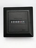 cheap -Timer Square Counter Digital 0-99999.9 Hour Meter Hourmeter Gauge AC220-240V HM-1