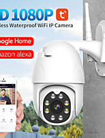 cheap -TY25 Tuya Wifi 2 mp IP Camera Waterproof IP66 PTZ Control Outdoor Two-way Speaking Audio Motion Detection Support Max 64 GB