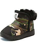 cheap -Boys' Boots Comfort / Snow Boots Leather Snow Boots Little Kids(4-7ys) / Big Kids(7years +) Red / Blue / Green Fall / Winter / Party & Evening / Camouflage