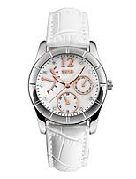 Недорогие -женские кварцевые часы водонепроницаемые часы женские часы девушка часы подарок на день рождения с ремешком из натуральной кожи
