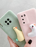 cheap -Case For Apple iPhone XR / iPhone XS Max / iPhone 6s Plus Shockproof Back Cover Animal / 3D Cartoon TPU