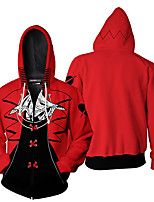 cheap -Inspired by Persona Series Hecate Cosplay Costume Hoodie Terylene 3D Printing Hoodie For Men's / Women's