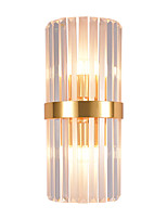 cheap -Crystal Creative Modern Nordic Style Wall Lamps Wall Sconces Bedroom Dining Room Steel Wall Light 110-120V 220-240V
