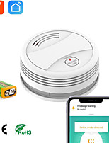 cheap -YW02 Smoke & Gas Detectors iOS / Android WIFI for Home / Indoor