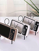 cheap -Mini Portable Retro BT Bluetooth Speaker Music TV Design Mobile Phone Holder Speaker Stereo Outdoor Sound