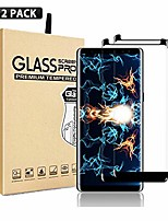 cheap -galaxy note 9 screen protector,[2 pack]  tempered glass with anti-fingerprint, bubble free, 9h hardness,hd screen protector film for samsung galaxy note 9[black]