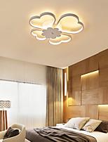 cheap -50/60 cm Led Ceiling Light Simple Modern Geometric Clover Nordic Bedroom Warm Creative Restaurant Household