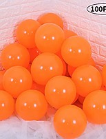 cheap -orange latex balloons 10 inch large helium party balloons for wedding birthday ceremony decorations(100 pcs)