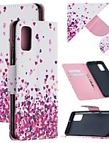 cheap -Case For Samsung Galaxy A21S Wallet  Card Holder  with Stand Full Body Cases Heart PU Leather Galaxy Note 20 Ultra S20 Plus A01 A11 M11 A21 A31 A41 A51 A71 5G Note 10 M31S