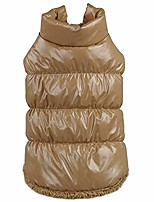 cheap -dog coat,pet dog puppy warm down fleece jackets dogs waterproof windproof clothes pet cat winter padded vest apparel for small medium large dogs