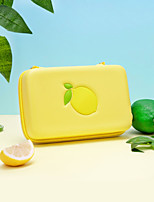 cheap -Carry Case for Nintendo Switch Portable Protection With Game Card Slots Lemon PU Leather EVA For Men and Women Casual Outdoor Indoor Everyday Use Portable