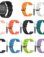 cheap -Watch Band for Amazfit Neo Amazfit Sport Band Silicone Wrist Strap
