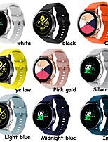 cheap -Strap FOR Samsung Galaxy Watch Active 2 40/44mm Gear Sport Wrist Bracelet Watchband 20mm Watch Strap Samsung Active2 3 42mm Band