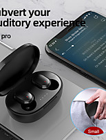 cheap -A6S Macaron Bluetooth headset LED digital stereo wireless call 5.0 binaural mini charging compartment
