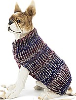 cheap -pet clothes the colorful stripes cat dog sweater, dog accessories, dog apparel,pet sweatshirt