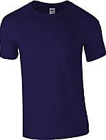 cheap -softstyle, adult ringspun t-shirt cobalt m